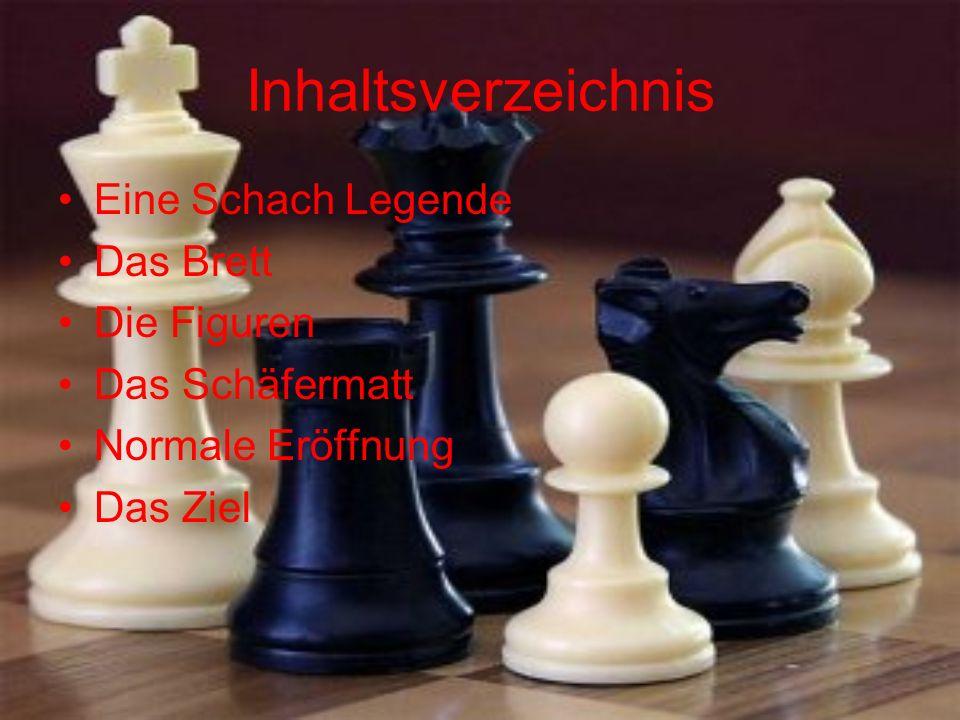 Inhaltsverzeichnis Eine Schach Legende Das Brett Die Figuren Das Schäfermatt Normale Eröffnung Das Ziel