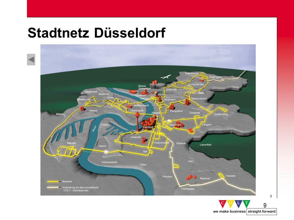 9 9 Stadtnetz Düsseldorf