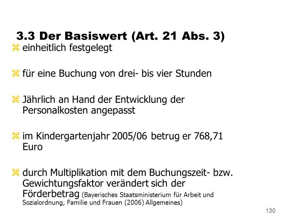 130 3.3 Der Basiswert (Art.21 Abs.