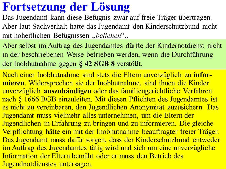 88 Fall 20 Ein Pflegekind lebt seit mehr als 5 Jahren bei seinen Pflegeltern.Die Pflegeltern ziehen um, und zwar von Bamberg Stadt nach Stegaurach im Landkreis Bamberg.