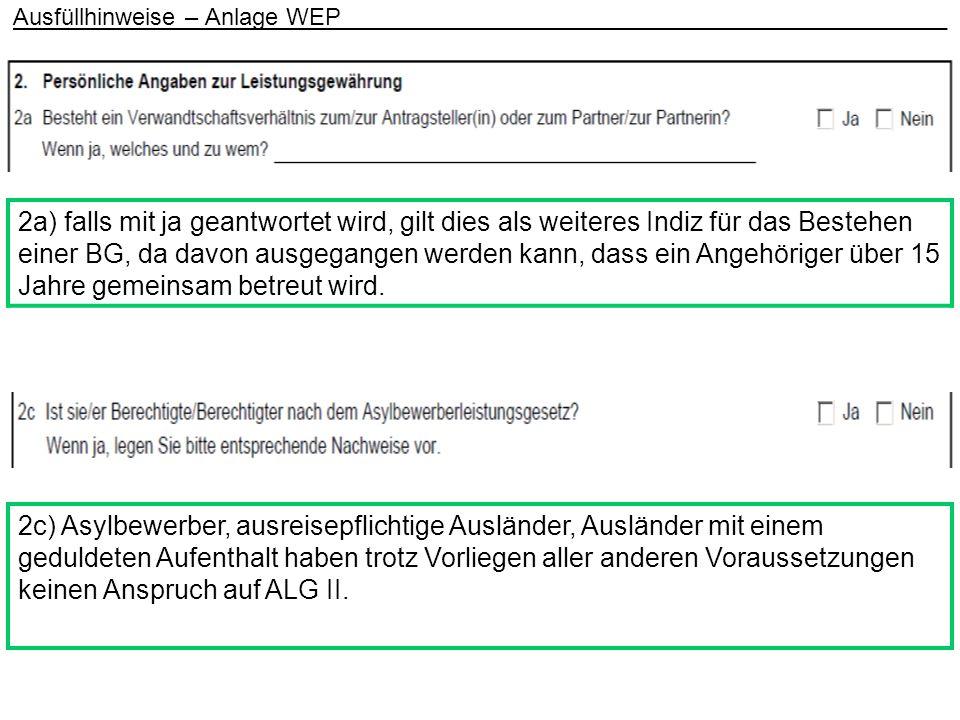 7a) Angaben zur Überprüfung, ob ggf.