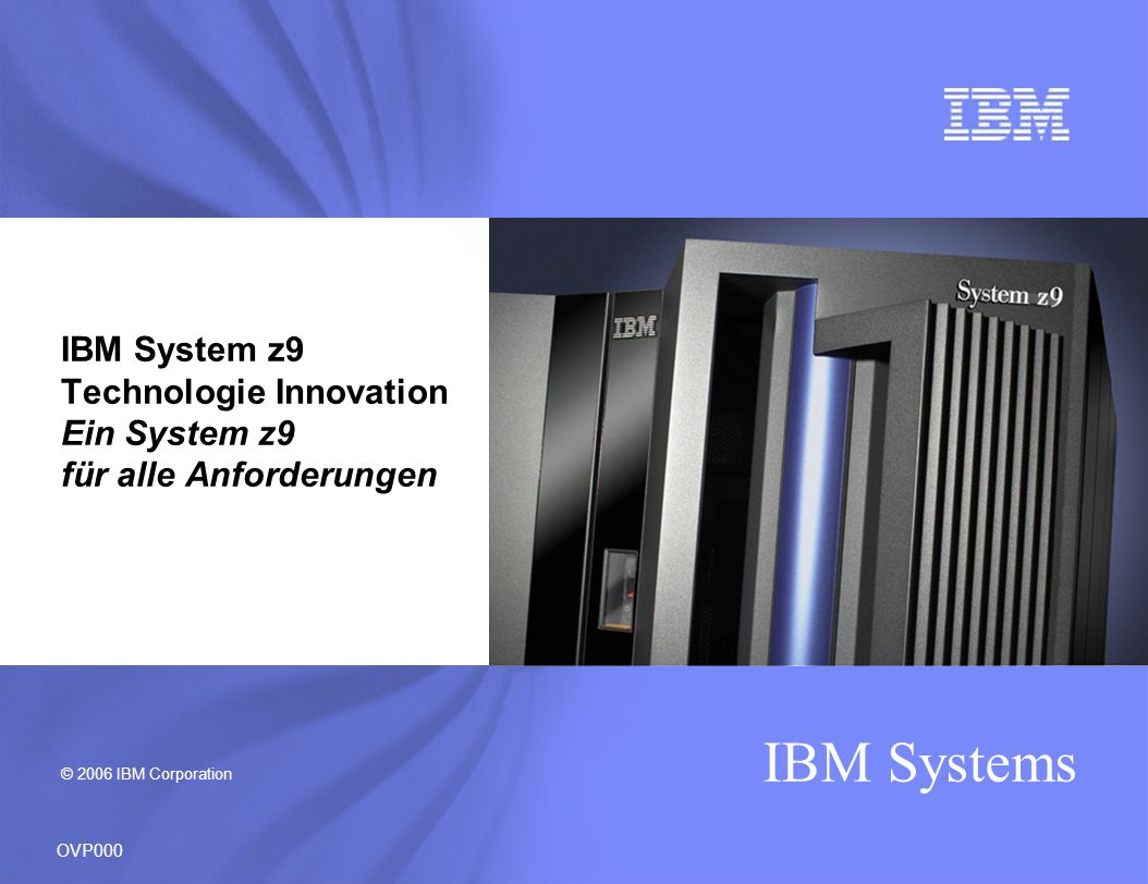 IBM Systems Full upgrades within the z9 EC Including any to any upgradeability in the 32 sub-capacity matrix Any to any upgrade from the IBM eServer zSeries 990 (z990), IBM eServer zSeries 900 (z900) - except Model 100, or IBM System z9 BC Model S07 Capability of the System z9 servers to nondisruptively increase computing resources within the server such as processors, memory and I/O* * When properly configured.