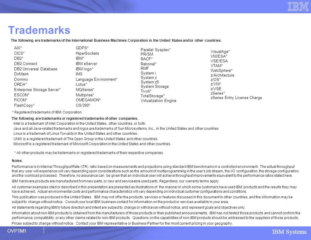 IBM Systems Geplante Verfügbarkeit September 2006 zOSSUM_105 Weiterer Ausbau Mainframe Leadership Vorschau: z/OS 1.8* Übersicht Ausbau Data Serving Verfügbarkeit Granulare Optionen für schnelle Datenreplikation Verbesserte Sysplex Widerstandsfähigkeit und Recovery SIcherheit Weiterentwicklung Management Digitale Zertifikate, Netzverschlüsselung und RACF ® NETZVERARBEITUNG Support für Windows Terminal Server (WTS) Clients, SAMBA für Linux Clients OPTIMIERUNG Erweiterte E/A Priorisierung für Bandeinheiten Erweitertes WLM Management der zAAP Workloads ANWENDUNGSINTEGRATON Support für Industrie und de facto Standards Optimierter LDAP Directory Server ermöglicht zentrale Konsolidierung von vert.