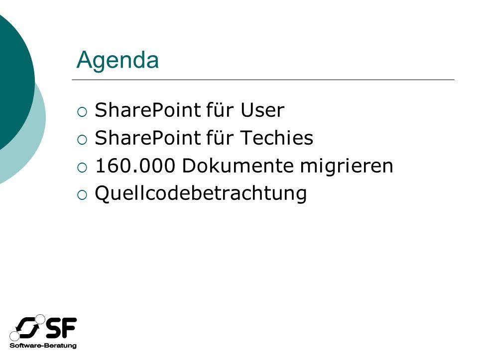 SharePoint für User Demo!