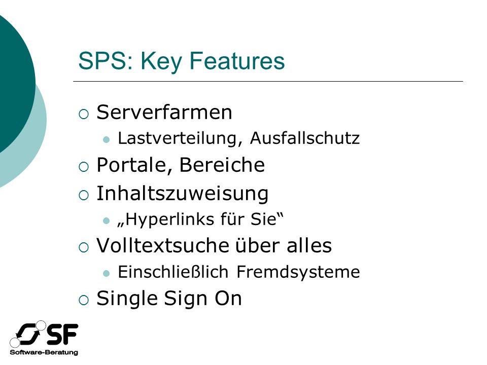 SPS WSS Architektur SQL Server Datenbanken Objektmodell WebServicesWebsites Objektmodell WebServicesWebsites
