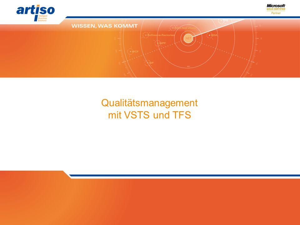 Qualitätsmanagement mit VSTS und TFS