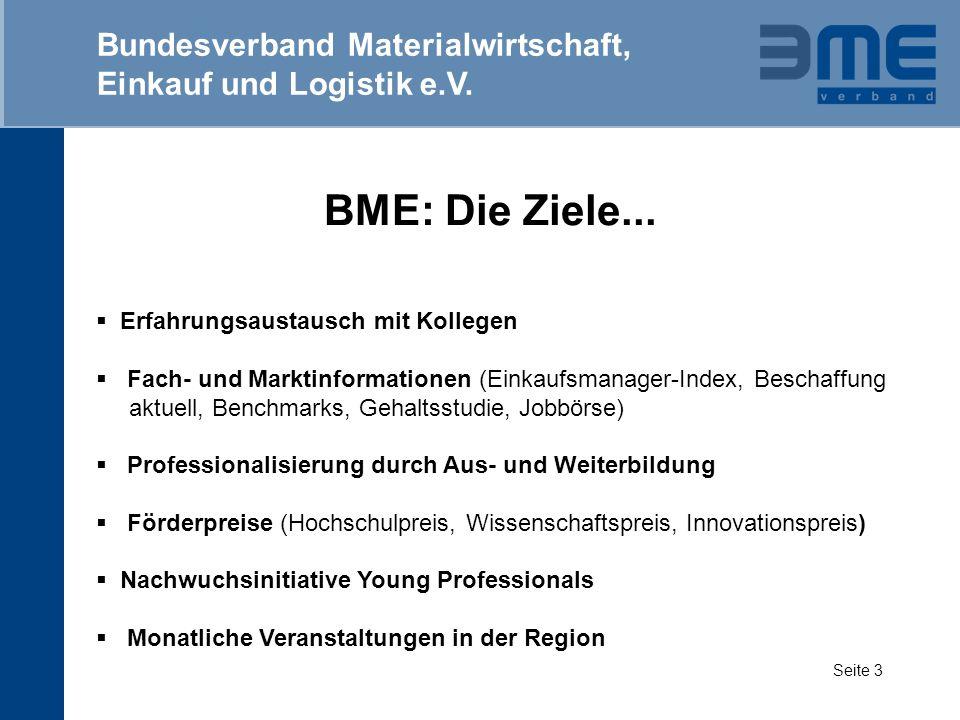 BME: Region Nürnberg-Mittelfranken Bundesverband Materialwirtschaft, Einkauf und Logistik e.V.