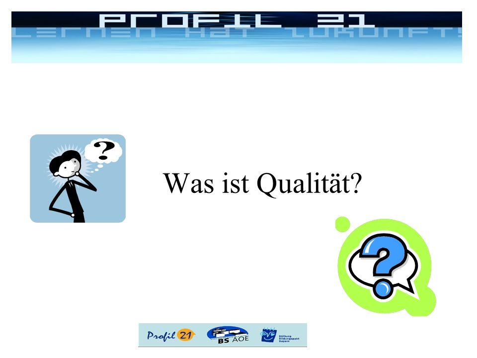 Was ist Qualität?