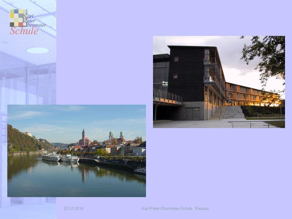22.01.2014Karl-Peter-Obermaier-Schule Passau