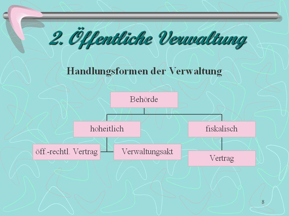 8 2. Öffentliche Verwaltung