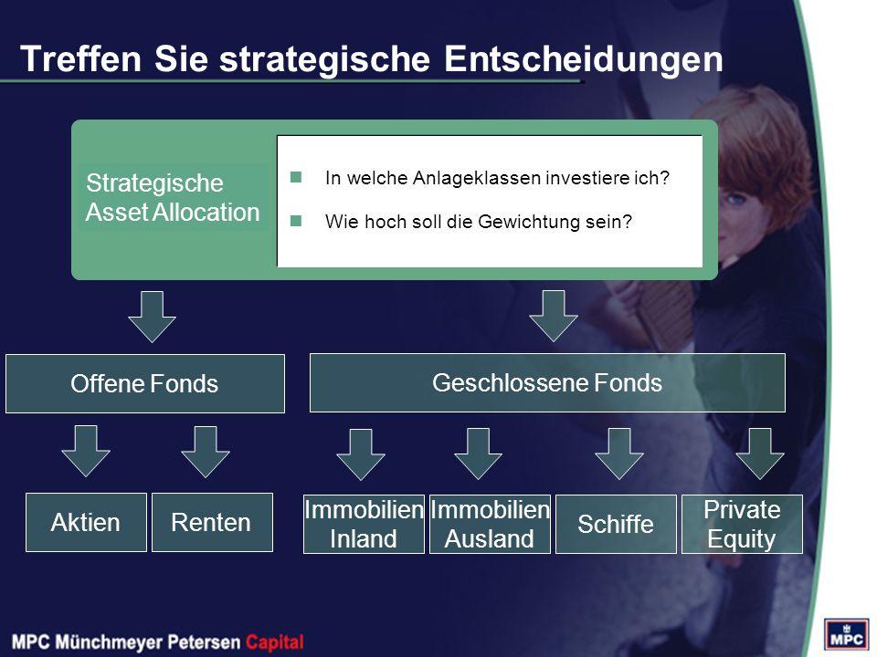 Strategische Asset Allocation In welche Anlageklassen investiere ich.