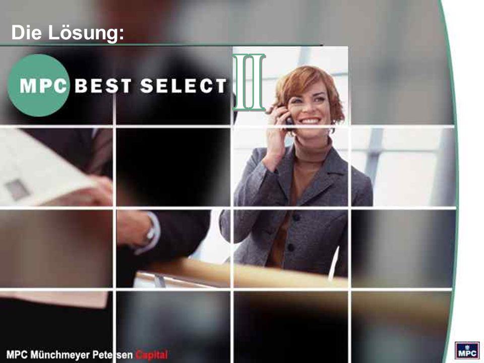 Das Angebot im Überblick MPC Best Select II TVP Anleger Zweite MPC Best Select Deutschland- immobilien GmbH & Co.