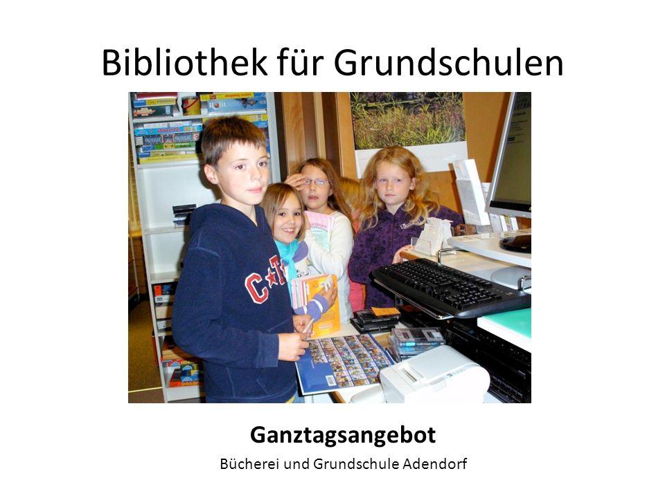 Bibliothek für Grundschulen Lesenacht Stadtbibliothek Neustadt am Rübenberge