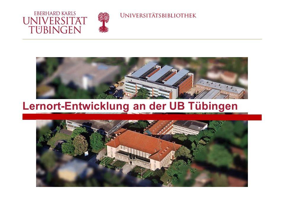 Lernort-Entwicklung an der UB Tübingen