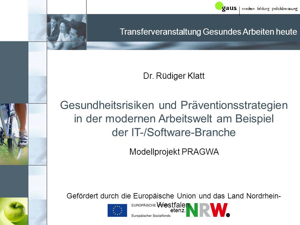www.praeventionskompetenz.de Interesse an Präventionsangeboten