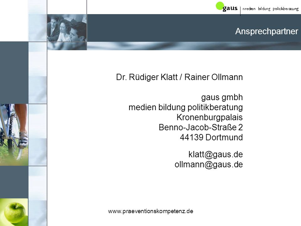 www.praeventionskompetenz.de Dr.