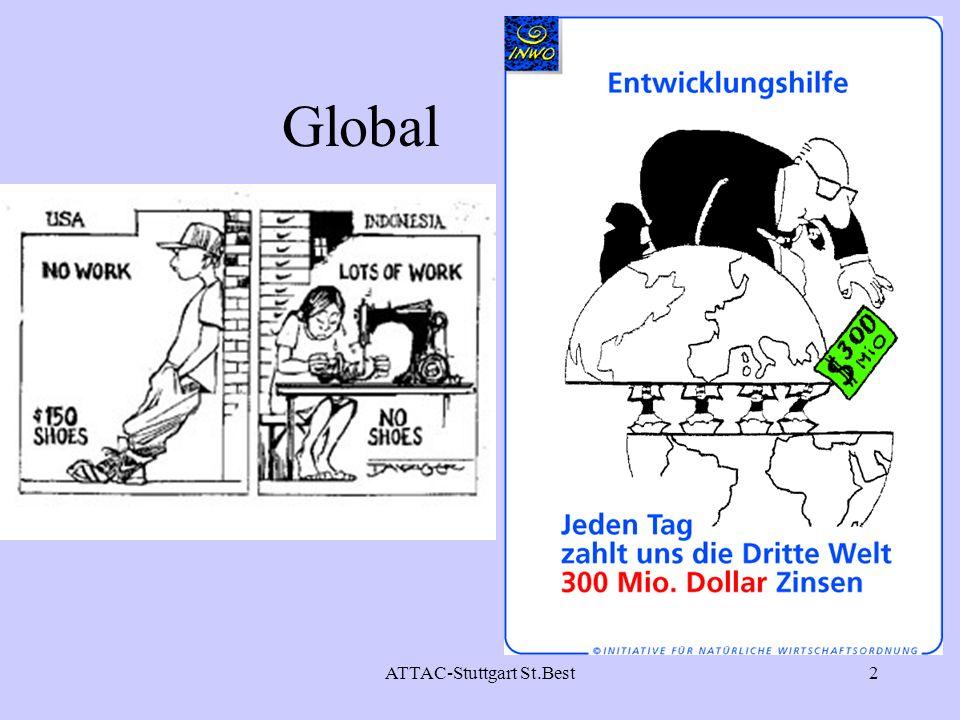 ATTAC-Stuttgart St.Best3 Globalisierung ( GATS/WTO-Prozess) – wohin.
