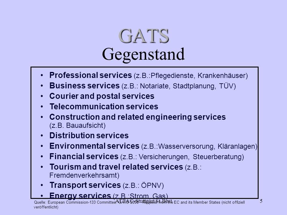 ATTAC-Stuttgart St.Best26 ATTAC-D Strukturen Stand: Oktober 2002 >160 Regionalgruppen