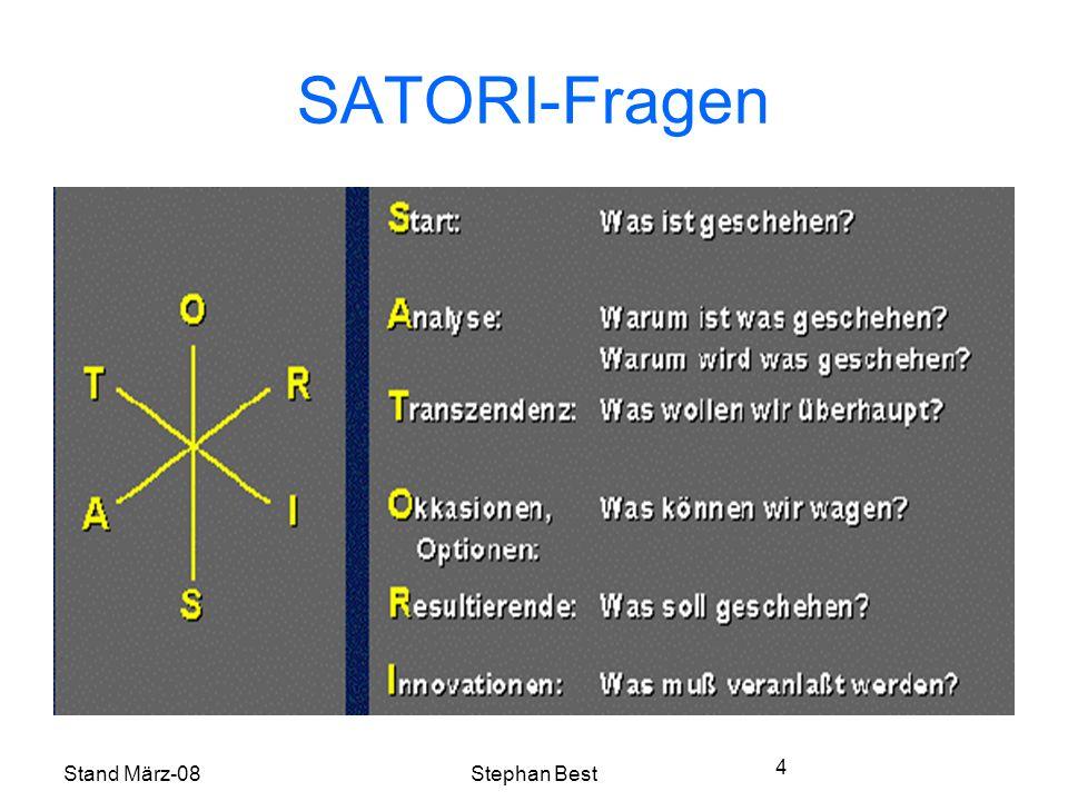 Stand März-08Stephan Best 4 SATORI-Fragen