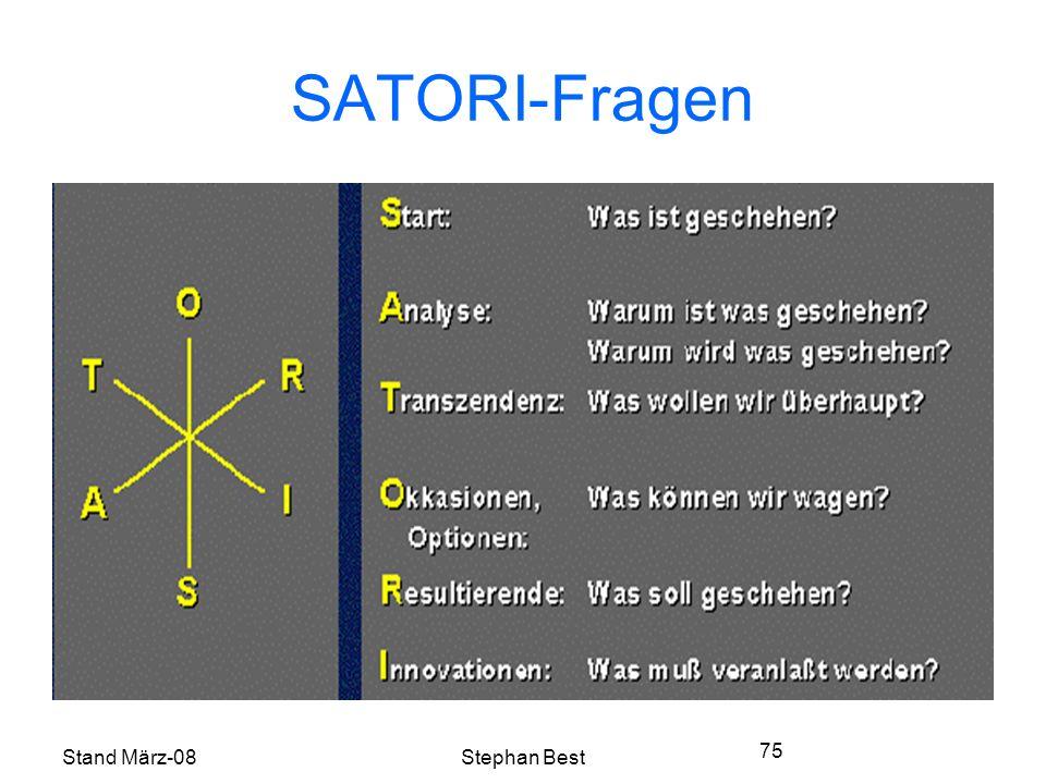Stand März-08Stephan Best 75 SATORI-Fragen