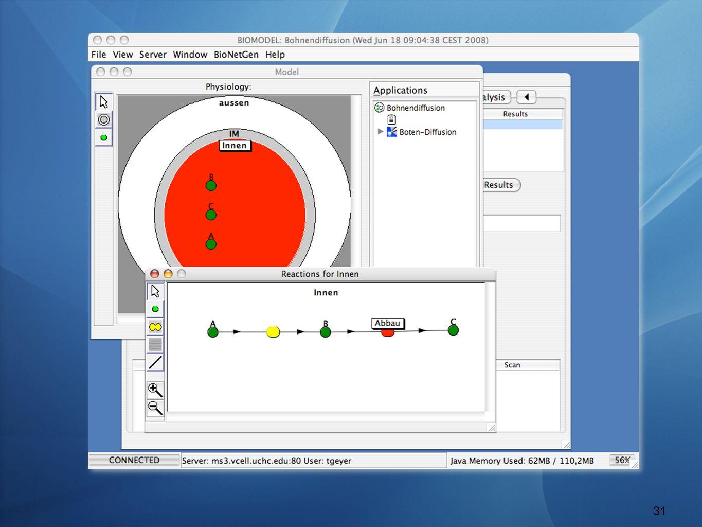 Softwarewerkzeuge WS 12/13 – V 11 Model-Setup: Spezies und Reaktionen 31 General definitions 31