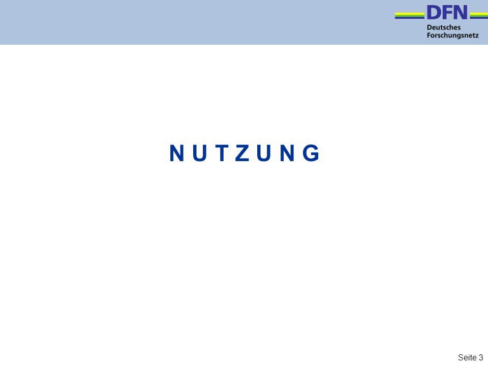 Seite 3 N U T Z U N G