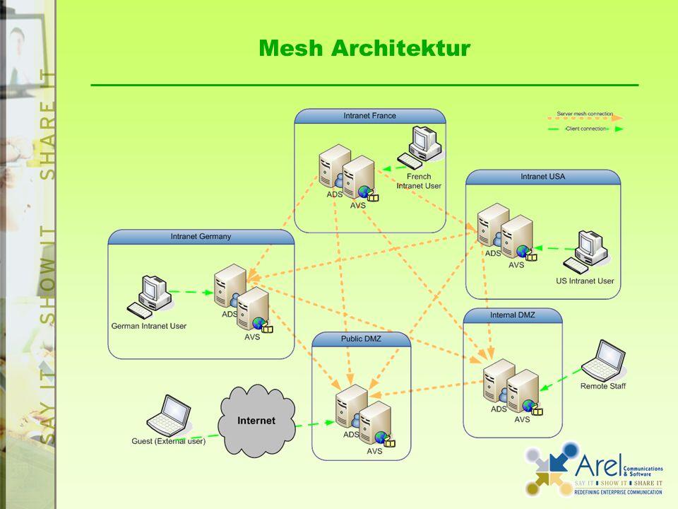 Mesh Architektur