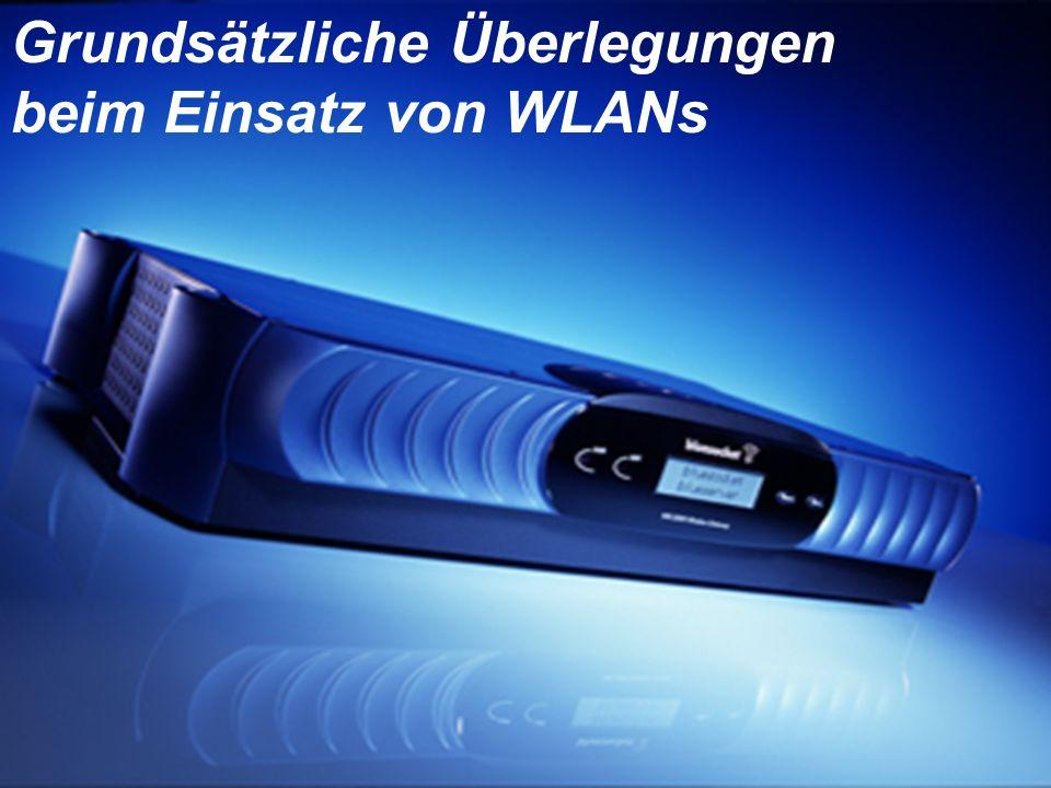 © 2002 Bluesocket, inc. Secure Mobility Grundsätzliche Überlegungen beim Einsatz von WLANs