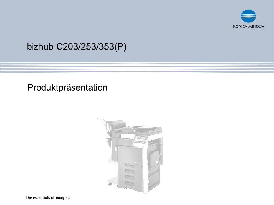 Auflösung Kopieren 600 x 600 dpi Drucken 600 x 1.800 dpi Scannen 600 x 600 dpi Faxen 600 x 600 dpi Graustufen 5Bit Continuous Tone Printing (wie PhotoArt 19.200 dpi) 8Bit Reproduktion 256 Halbtöne Speicher 1.024 MB Arbeitsspeicher (Std./max.) 60 GB Festplatte (Std./optional für P) C352 40 GB Spezifikationen