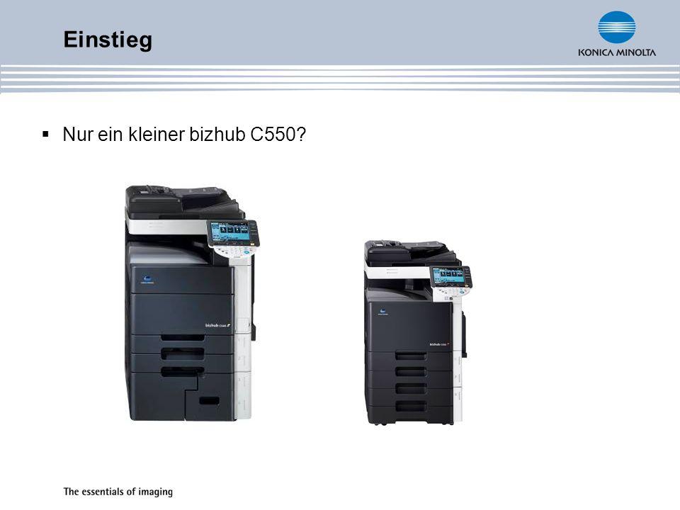 Druckcontroller Emperon Version 5.1 (genauso wie C550 FE1) CPU PowerPC 7447 @ 1GHz C352 600MHz 64 Bit Verarbeitung PCL 6c (PCL5c + XL3.0) PostScript 3 Emulation CPSI 3016 (PDF 1.6) C352 CPSI 3011 10/100/1000 Base–T Ethernet Highspeed USB 2.0 IPv6 & IPsec Unterstützung Windows VISTA = XPS und DPWS Unterstützung Spezifikationen
