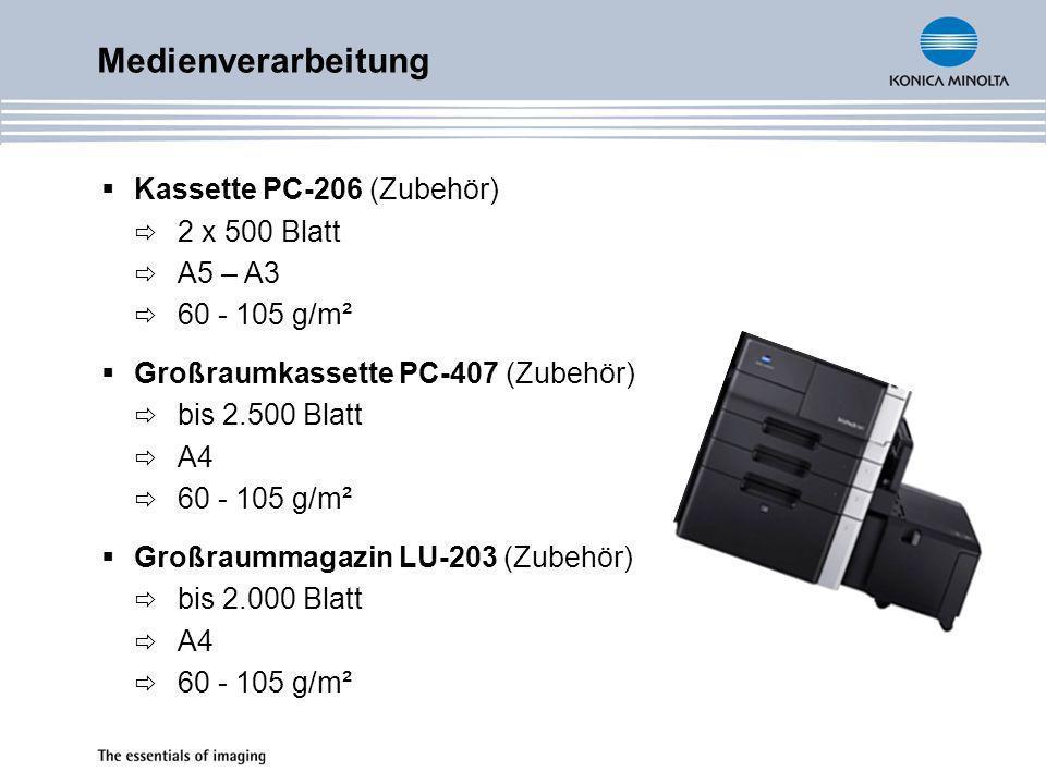 Zubehöre FS-522 integrierter Finisher Ausgabekapazität max.