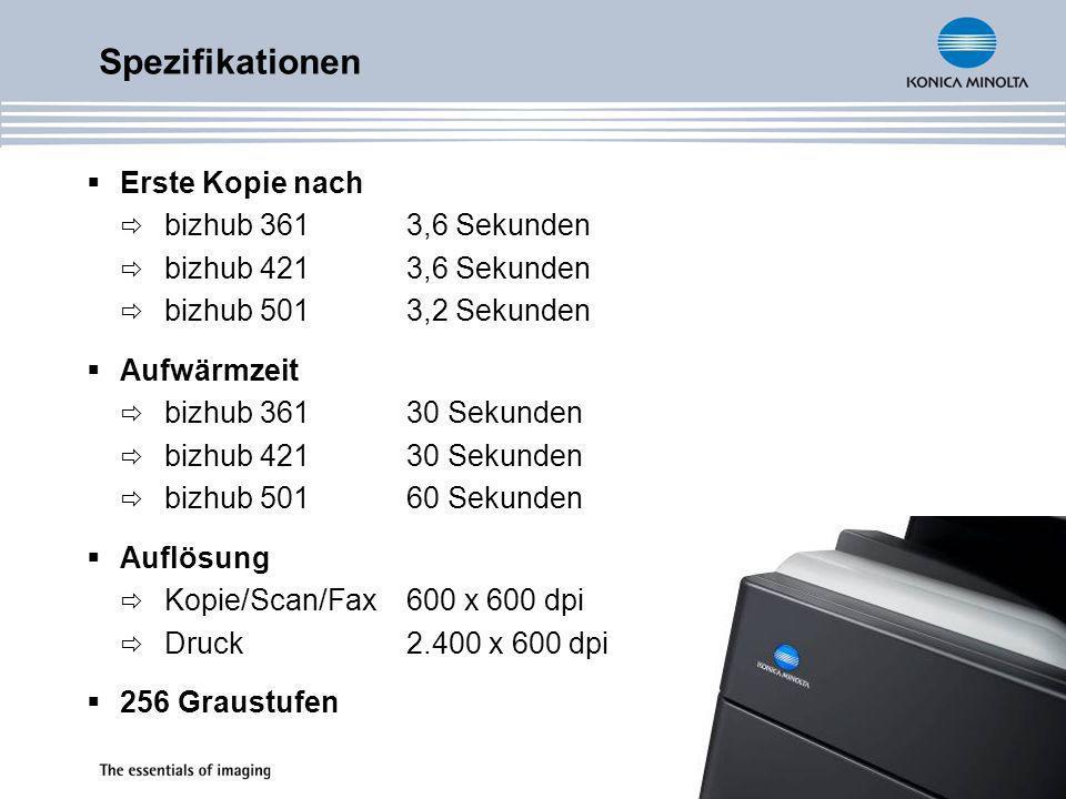 Speicher 1 GB Systemspeicher max.2 GB (nur für i-Option) 60 GB Festplatte opt.