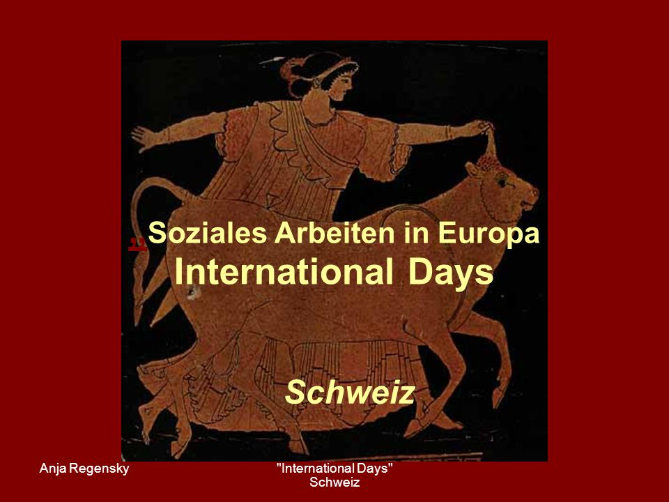 Anja Regensky International Days Schweiz 9.