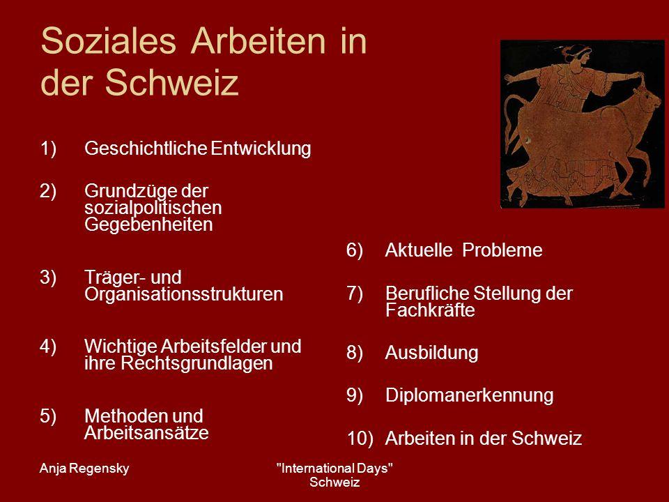 Anja Regensky International Days Schweiz 1.