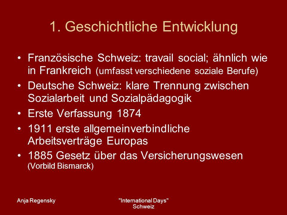 Anja Regensky International Days Schweiz 4.