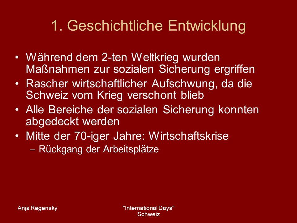 Anja Regensky International Days Schweiz 5.
