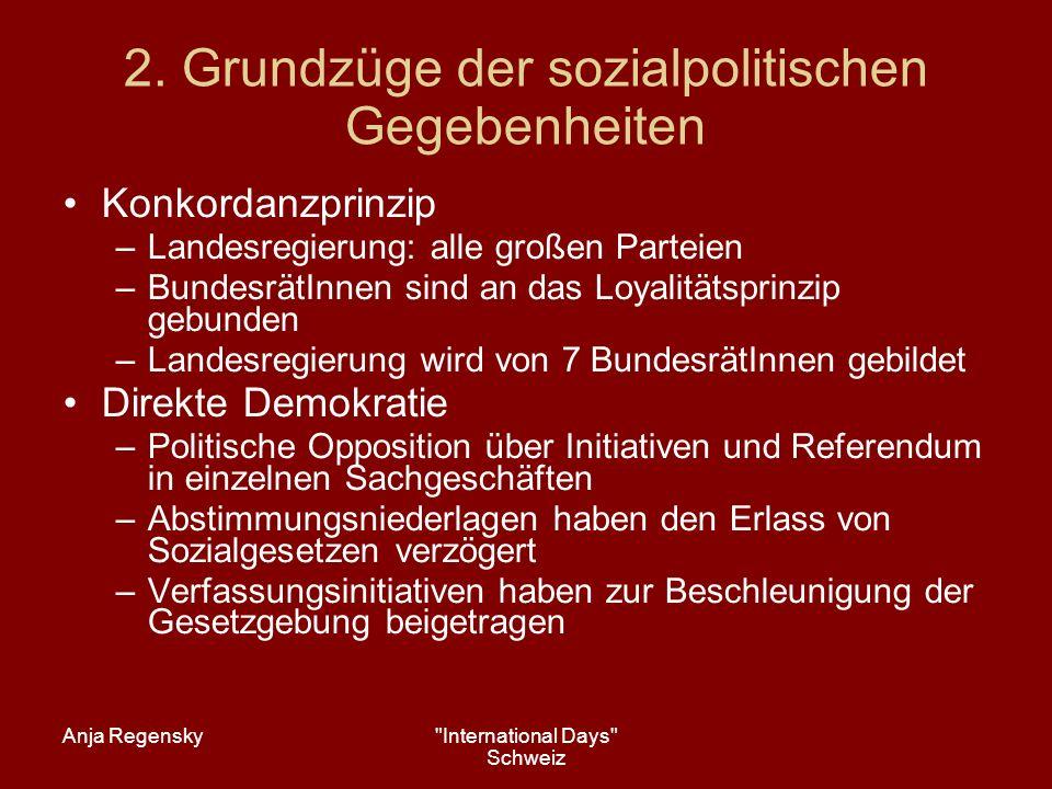 Anja Regensky International Days Schweiz 7.