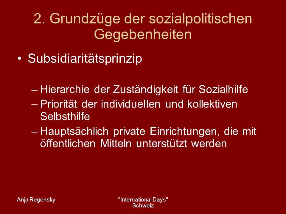 Anja Regensky International Days Schweiz 8.