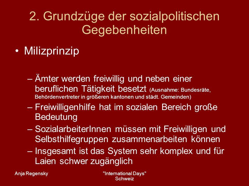 Anja Regensky International Days Schweiz 3.