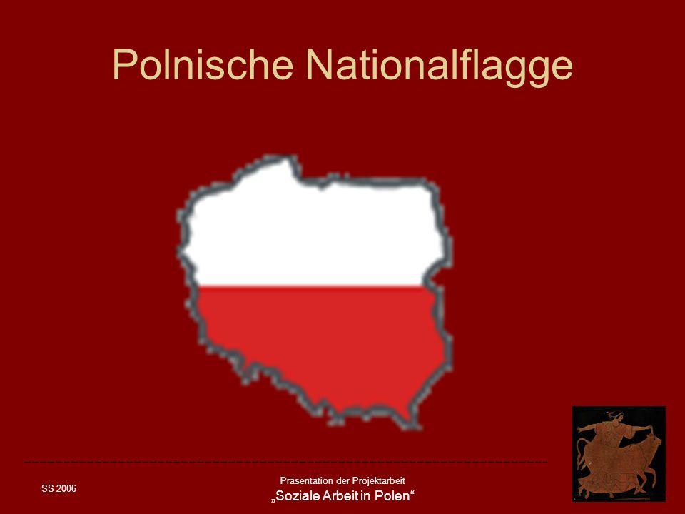 SS 2006 Präsentation der Projektarbeit Soziale Arbeit in Polen Ausbildung der Sozialen Arbeit nach 1989 Drei Ausbildungsarten werden in Polen angeboten: –Die Berufsmittelschule der Sozialen Arbeit, sie werden als Postlyzealen Schulen der Sozialen Dienste bezeichnet (Policealne Szkoly Sluzb Solecznej).
