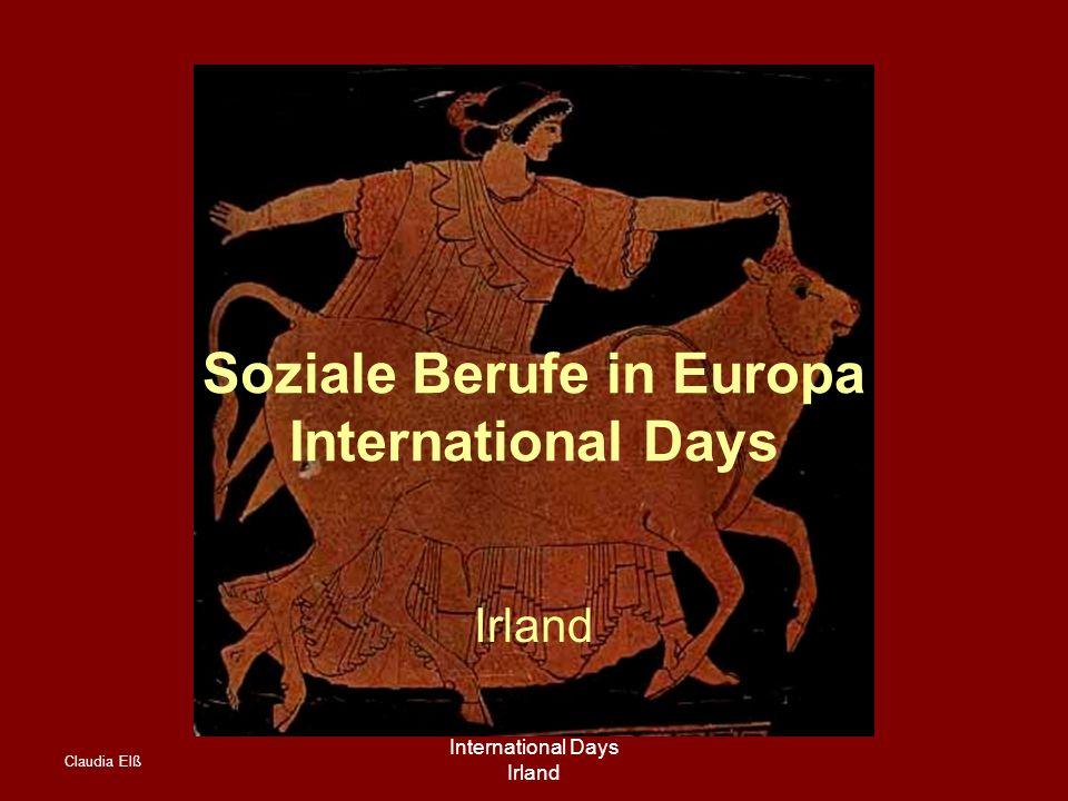 Claudia Elß International Days Irland Soziale Berufe in Europa International Days Irland