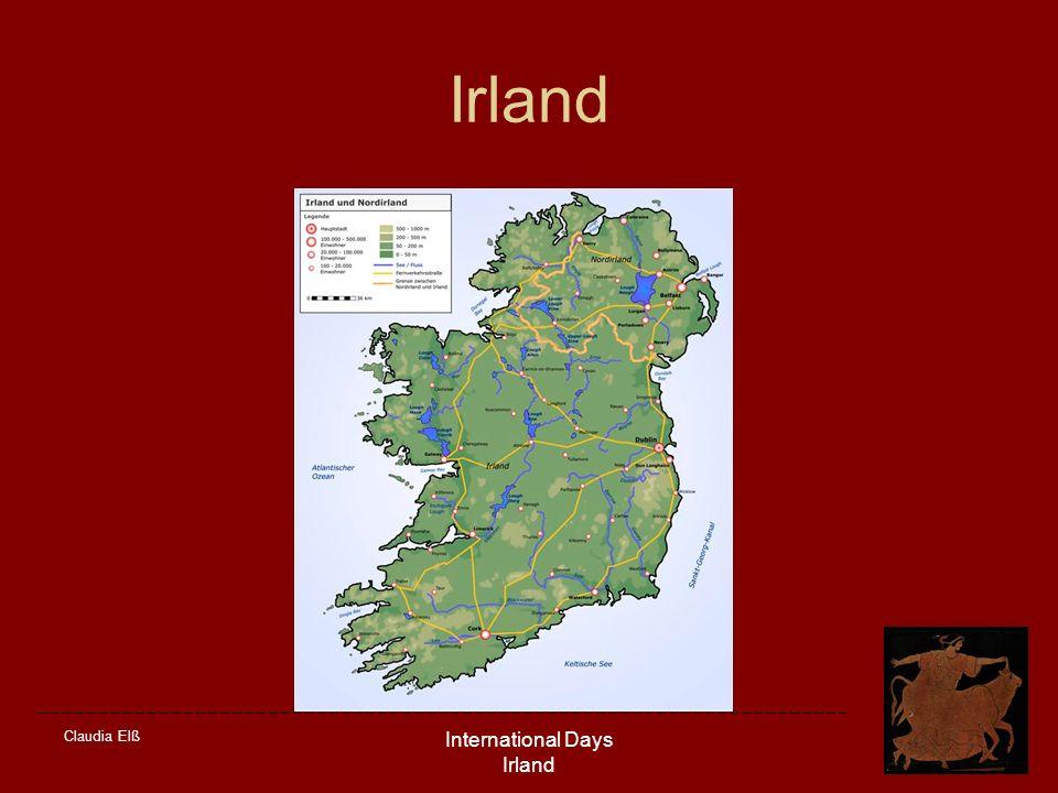 Claudia Elß International Days Irland Irland