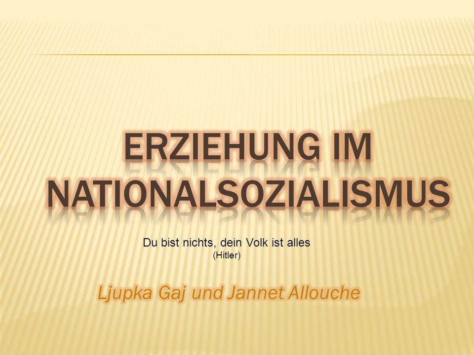 Du bist nichts, dein Volk ist alles (Hitler)