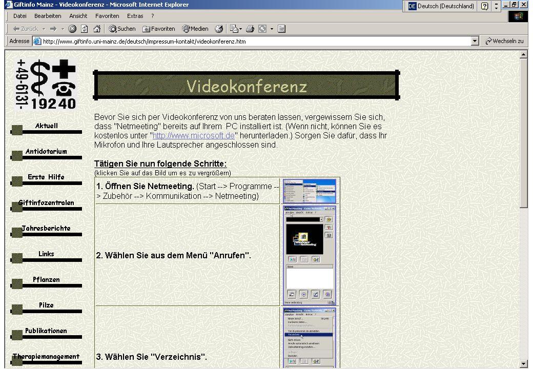 Worzyk FH Anhalt Telemedizin WS 01/02 Einführung - 29