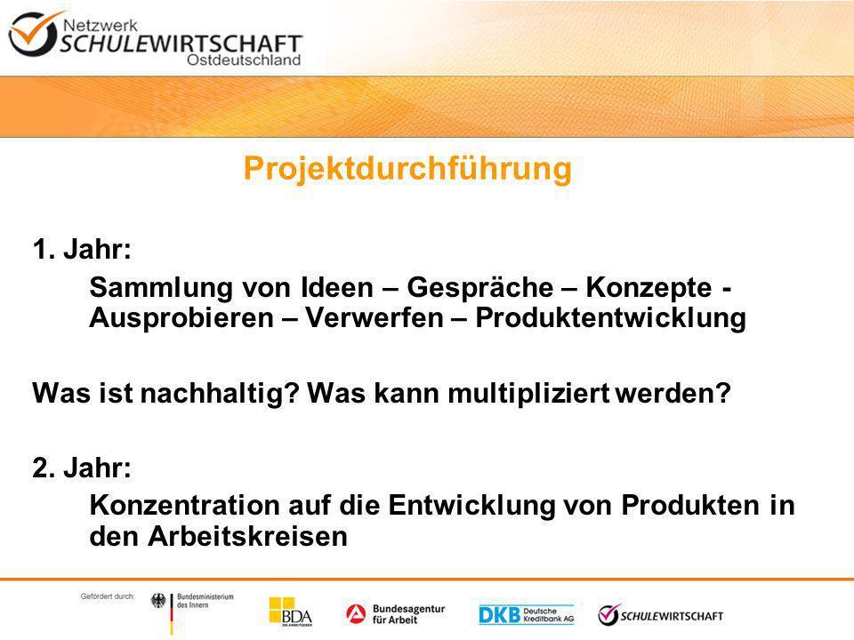 Projektdurchführung 1.