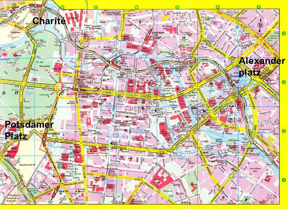 Worzyk FH Anhalt Telemedizin WS 09/10 Exkursion - 7 Charité Alexander platz Potsdamer Platz
