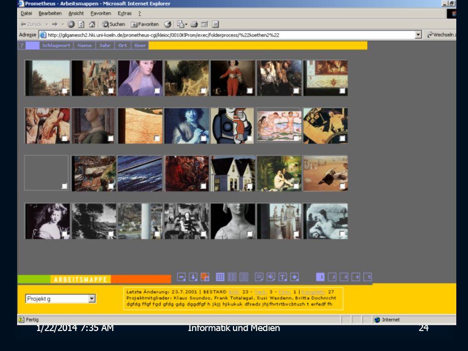 1/22/2014 7:36 AMInformatik und Medien24