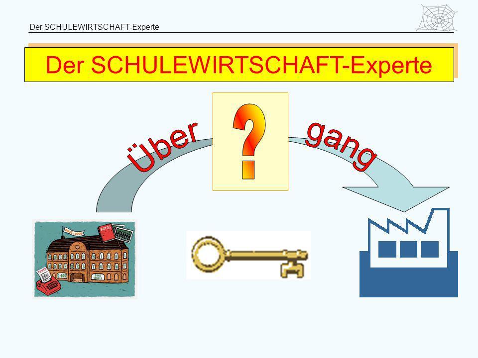 Der SCHULEWIRTSCHAFT-Experte