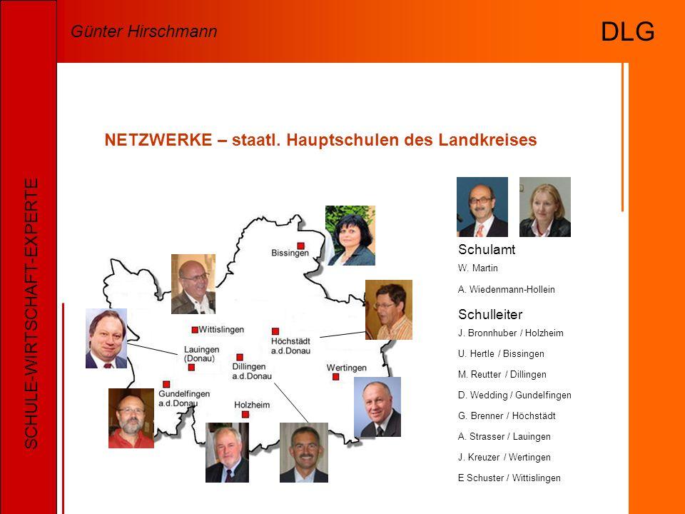 NETZWERKE – staatl. Hauptschulen des Landkreises Schulleiter J.