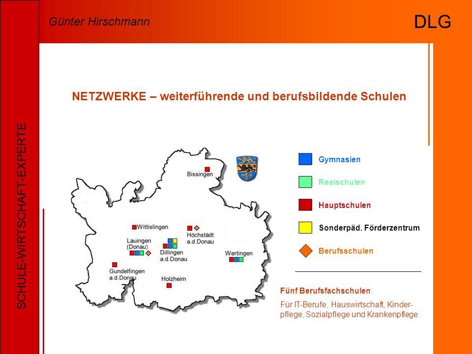NETZWERKE – weiterführende und berufsbildende Schulen Gymnasien Realschulen Hauptschulen Sonderpäd.